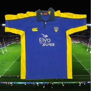 Canterbury ASM Clermont Auvergne Rugby Jersey